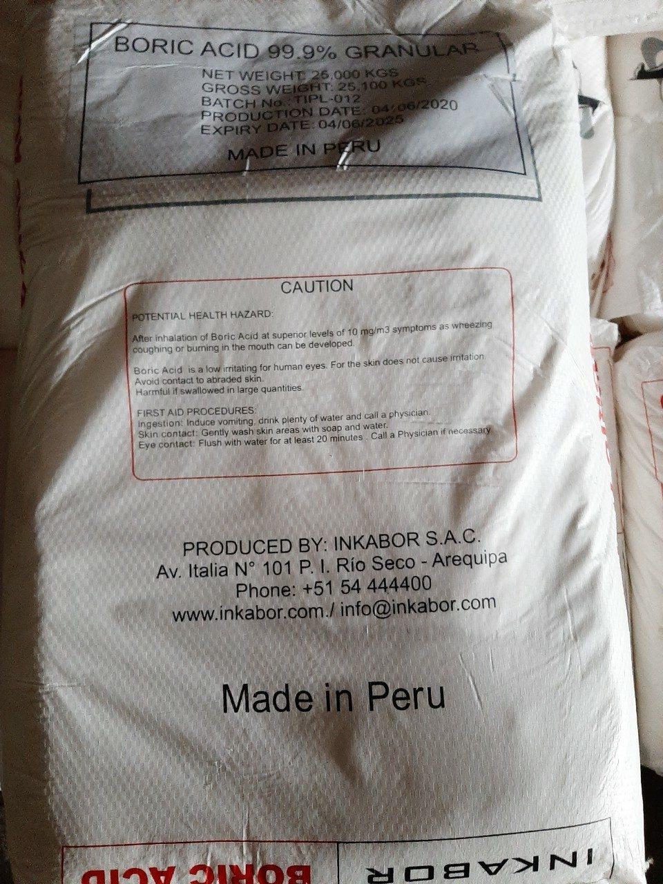 Boric Peru Sau